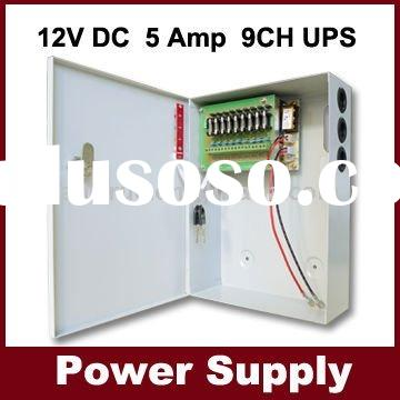 12V DC 5A 8CH CCTV UPS POWER SUPPLY BACK UP (12V 7AH Battery) CCTV BACKUP POWER SUPPLY