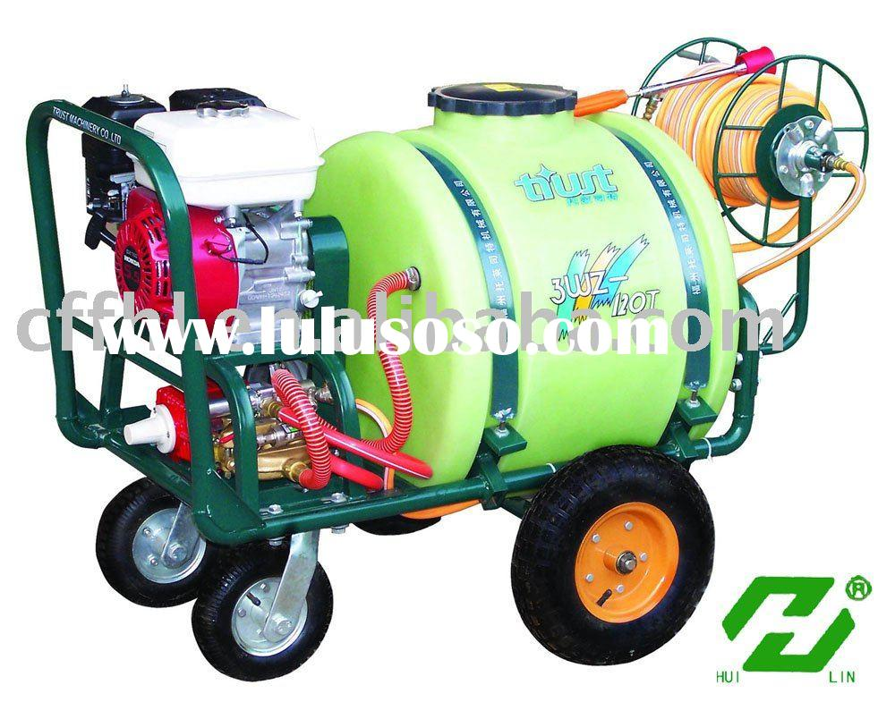 15M range gasoline power agriculture chemical sprayer machine