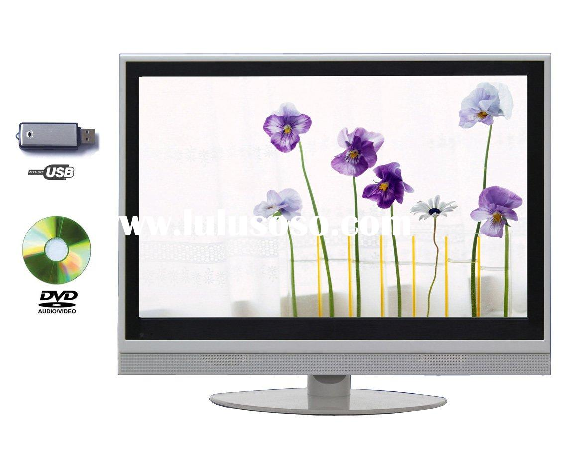 "19"" 22"" LCD TV WITH DVD/SD/USB COMBO (DVB-T /H.264/MPEG4)"