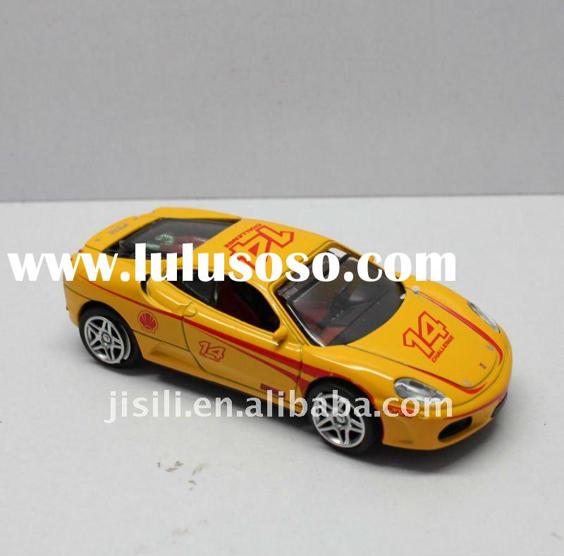 1:43 die cast metal with plastic parts car toy model