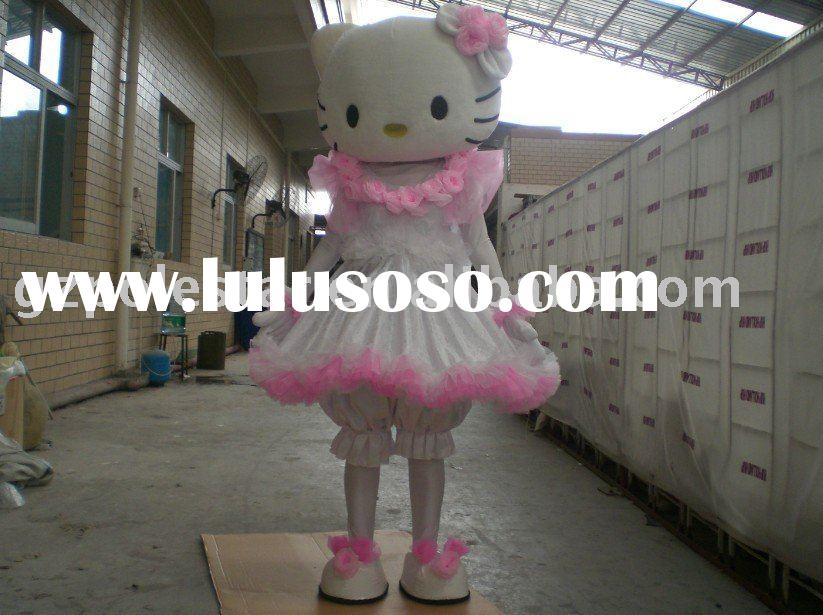 2010 PS Party Costume / Hello Kitty Mascot / Dance Costume