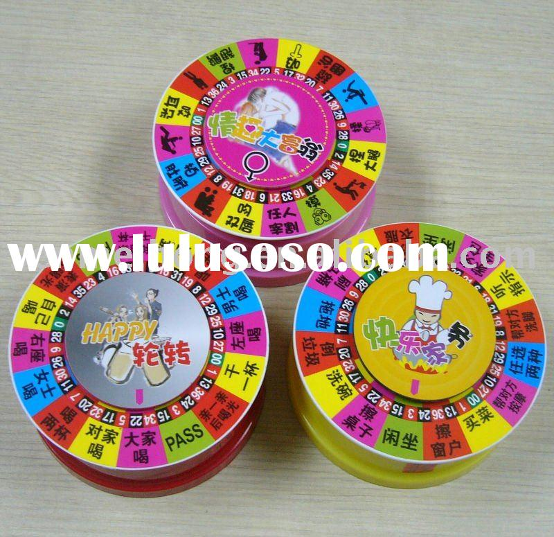 2012 New type Drinking roulette, Casino game set