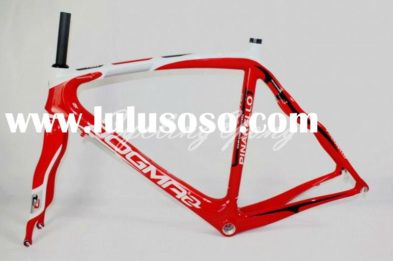 2012 Pinarello Dogma2 60.1 W7 carbon road bicycle frame and fork 50,52,54,56,58cm, wholesale