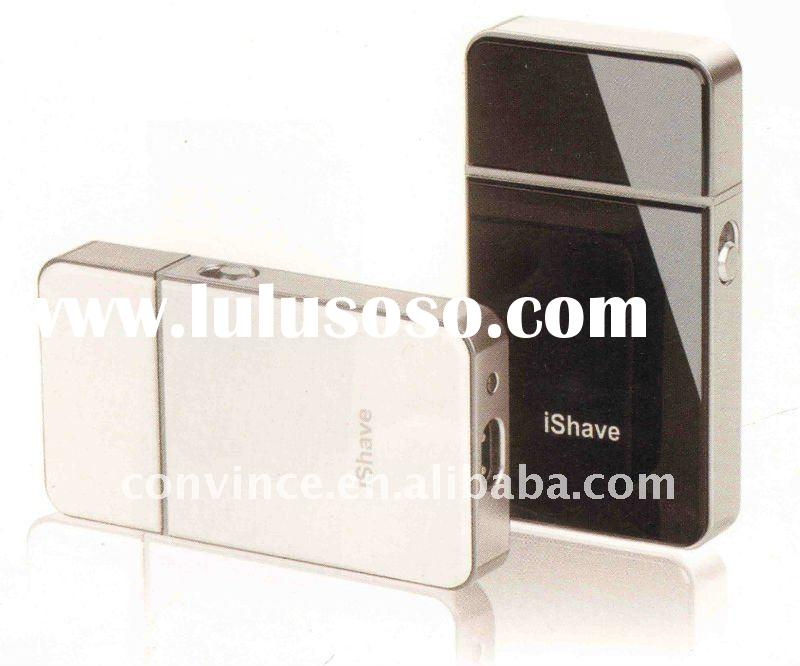 2012 new designer iphone shape Rechargeable shaver