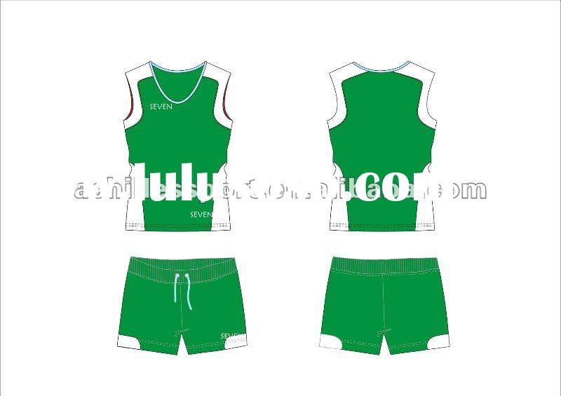 2012 new style volleyball vest, volleyball shirts, customized design and durable