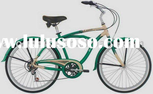 26INCH STANDRAD 6 SPEED COASTER BRAKE BEACH CRUISER