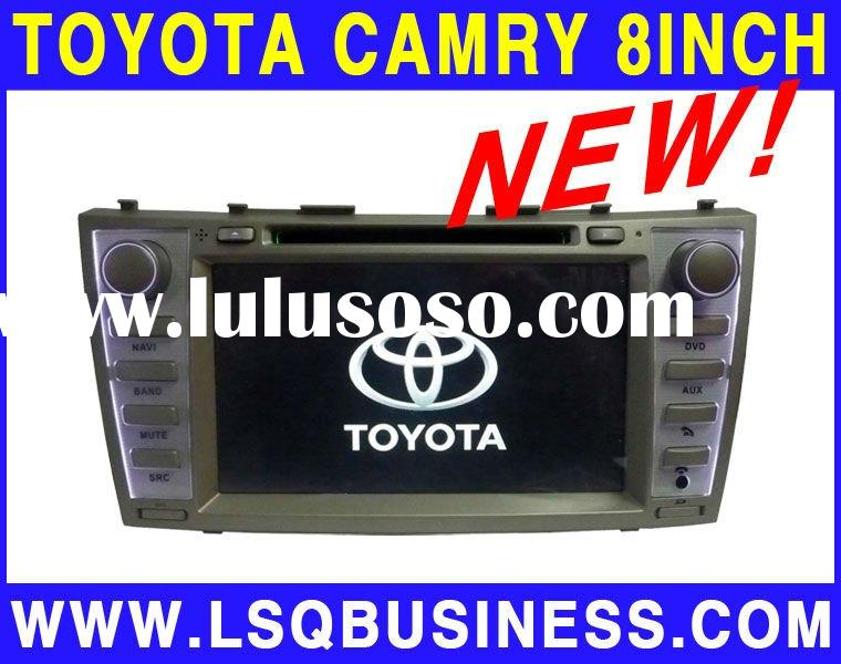 2 Din 8 inch Toyota Camry Car DVD Player with DVD/CD/MP3/MP4/Bluetooth/IPOD/Radio/TV/GPS/Wince 6.0!