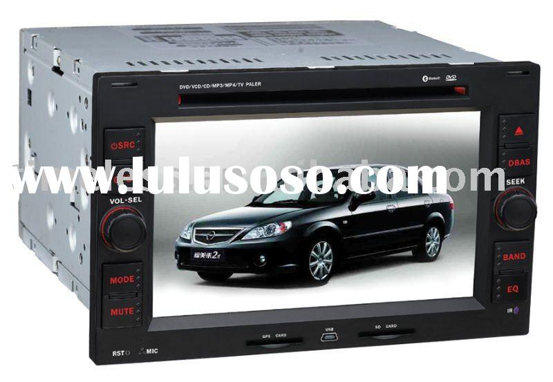 2 Din Car DVD for Special panel for Peugeot 307 with built-in GPS, Dual Zone, RDS,Steering Wheel (TI