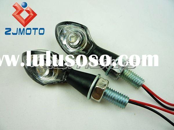 2 PCS Universal Motorcycle LED Turn Signals Lights Aluminium shell LED Turn Signal Lamp