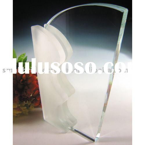 3D laser crystal Award,