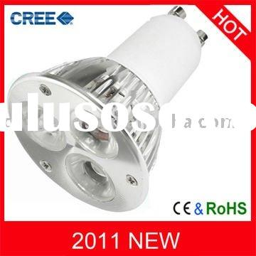 3W,9W CREE Dimmable GU10 LED Spot Light