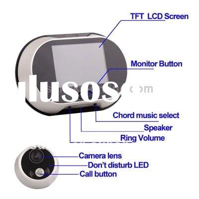 3.5 inch TFT LCD Screen Digital Door Viewer with Doorbell
