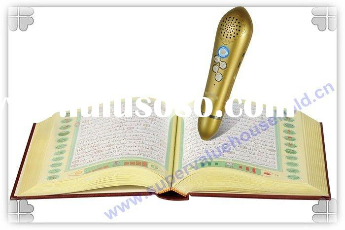 4GB,MP3 Quran read pen M990 with new function(Azan clock&FM) Quran read pen