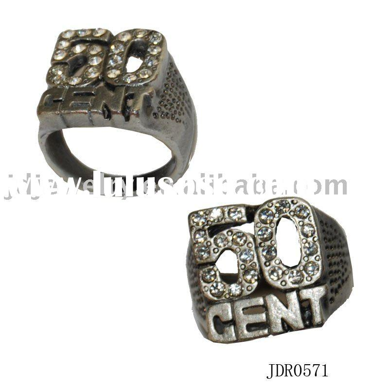 50 cent ring