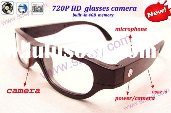 5.0MP 720P HD USB Pinhole Glass camera Design Mini Hidden Camera With TF Slot upto 32gb