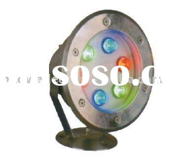 6W led high power underwater light round/ pond