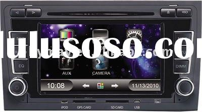6.5 inch car audio for Audi A4 with DVD Player GPS Navigation