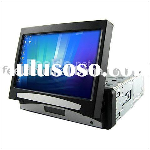 7 inches fully-motorized In-dash TFT-LCD Monitor with touchscreen for car PC