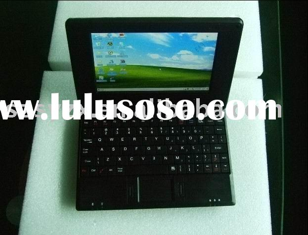 7'' mini laptop with windows OS wifi function						OEM Laptop computer
