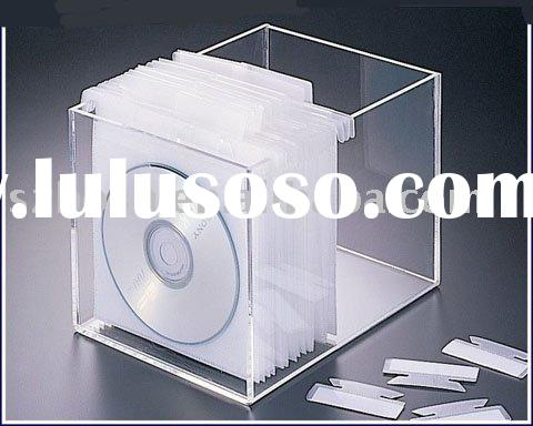 Acrylic CD Holder,Acrylic CD Rack,Acrylic CD Display