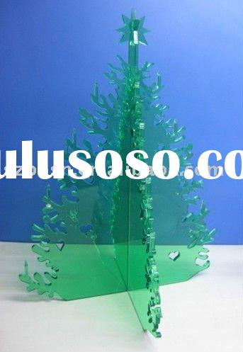 Acrylic Christmas Tree,Plexiglass Gifts & Crafts,Perspex Christmas Decoration