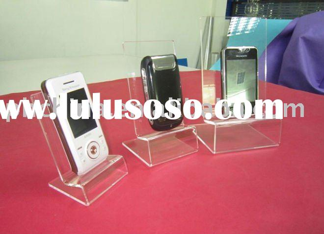 Acrylic table top Mobile Phone Holder,Perspex Cell Phone Display