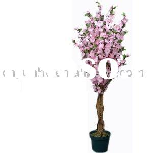 Artificial Tree Collection - 4 Foot Peach Blossom Tree