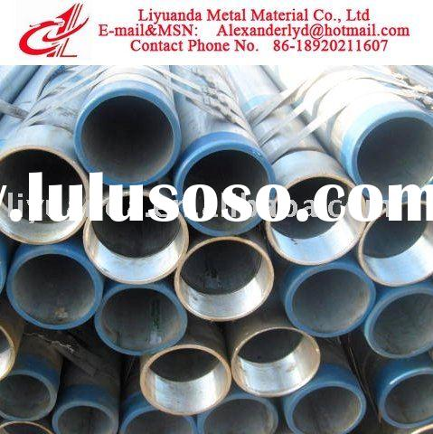 BS1387 Pipe/Galvanized Tube/ERW Galvanized Tube