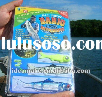 Banjo Minnow fish lure as seen on tv