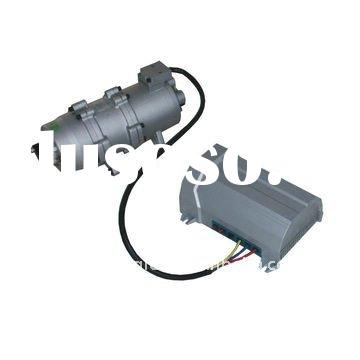 Brushless dc electric compressor for Smart Automotive's dc air conditioner system