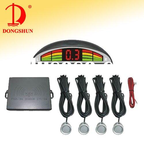 Car reversing sensor with led display/reversing aid with four sensors