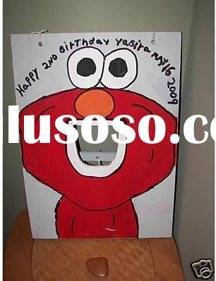 Cartoon Toss Game Table,Funny Bean Bag Toss Table