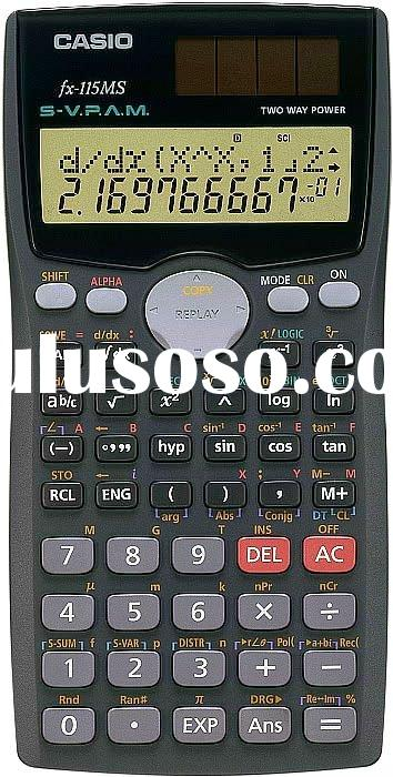 Casio FX 115 MS Scientific Calculator