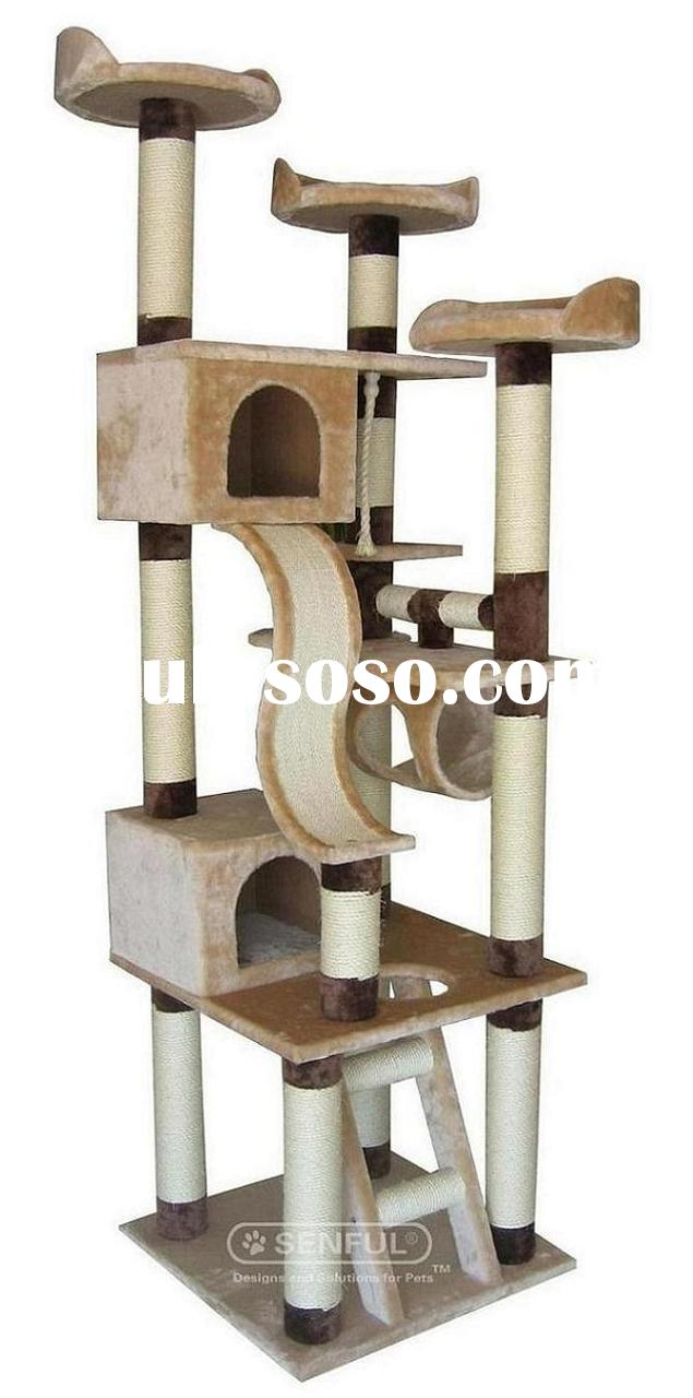 how to make a cat tree out of pvc pipe