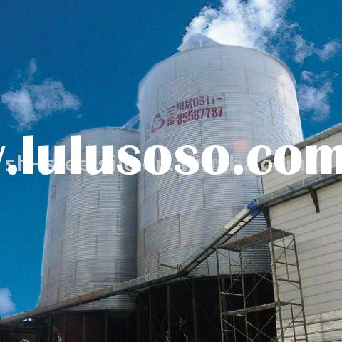 Complete Hot Galvanized Steel Grain Silo