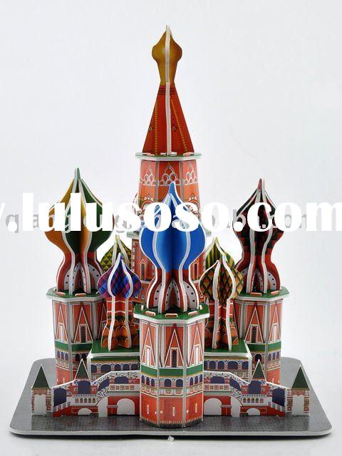 DIY 3D Puzzle St. Basil's Cathedral