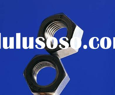 Din934 zinc steel HEX NUT