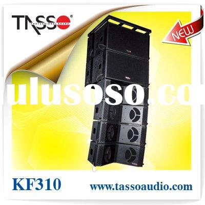 Double 10'' powered line array loudspeaker KF310A (CE,RoHS)