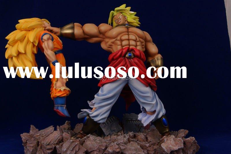 Dragon Ball Z Action Anime Poly-resin Figure-Bloly Battle SON Goku