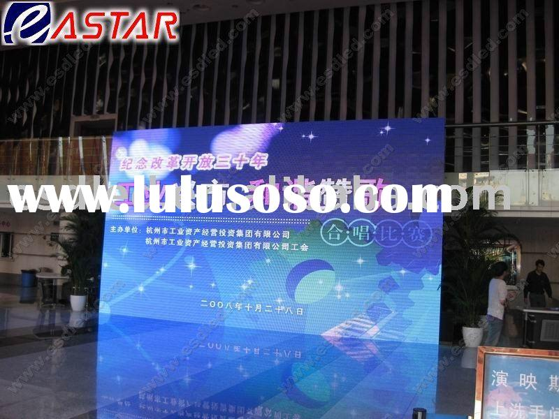 Eastar P7.625mm indoor full color LED video wall