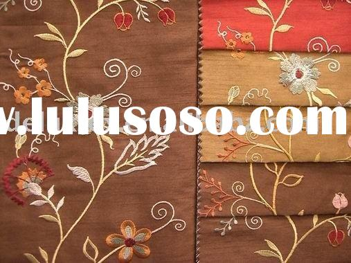 Embroidery fabric design