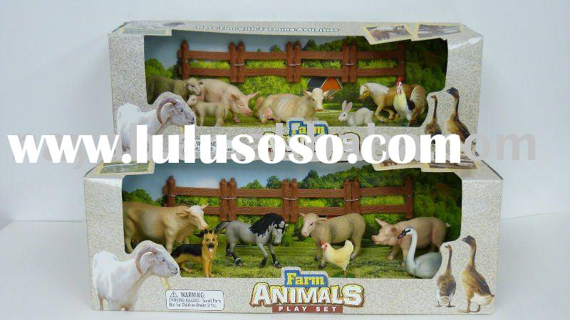 Farm Animal Figurines Play Set