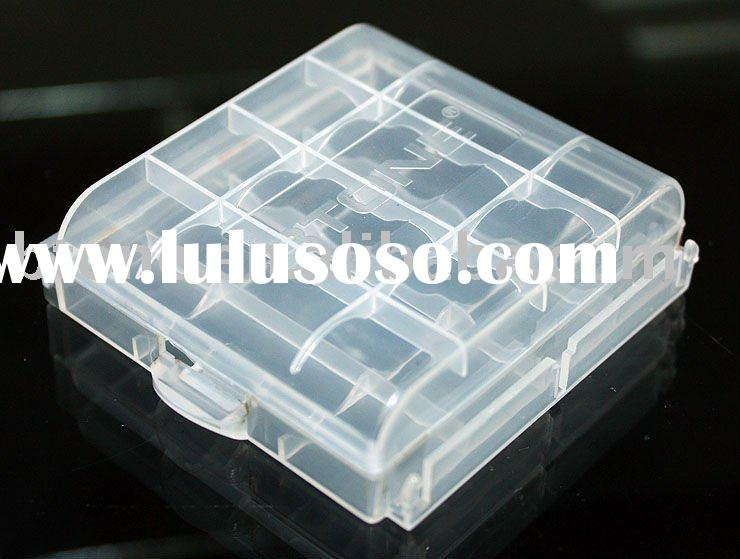 For AA AAA Size Battery Plastic Case Holder Storage Box