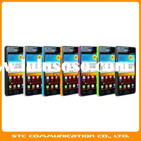 For Samsung Galaxy S2 i9100 back case, protective back case cover for S 2 i9100, 7 colors option