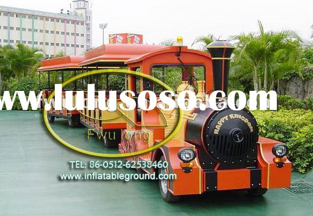 HOT electrical trackless train
