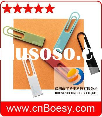 Hot!! Paper clip usb flash drive, a design that aims for a new relationship between daily life and d
