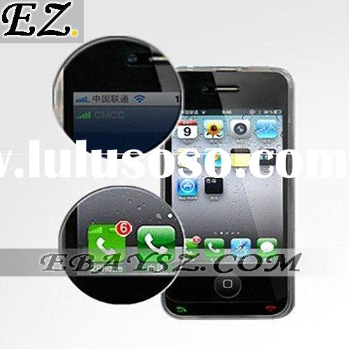 Hot Sale,2 Phone Dual Sim Dual Standby Battery Protecting Case for iPhone 4 IP-608