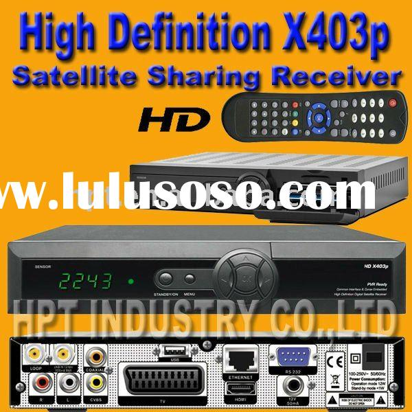 how to set up satellite receiver
