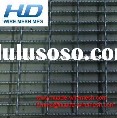 Hot-dipped Galvanized serrated steel bar gratings/Bar Grating/ Steel grating