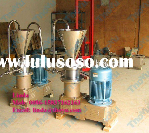 Hot selling peanut butter making machine made of 304 stainless steel 0086-15837162163